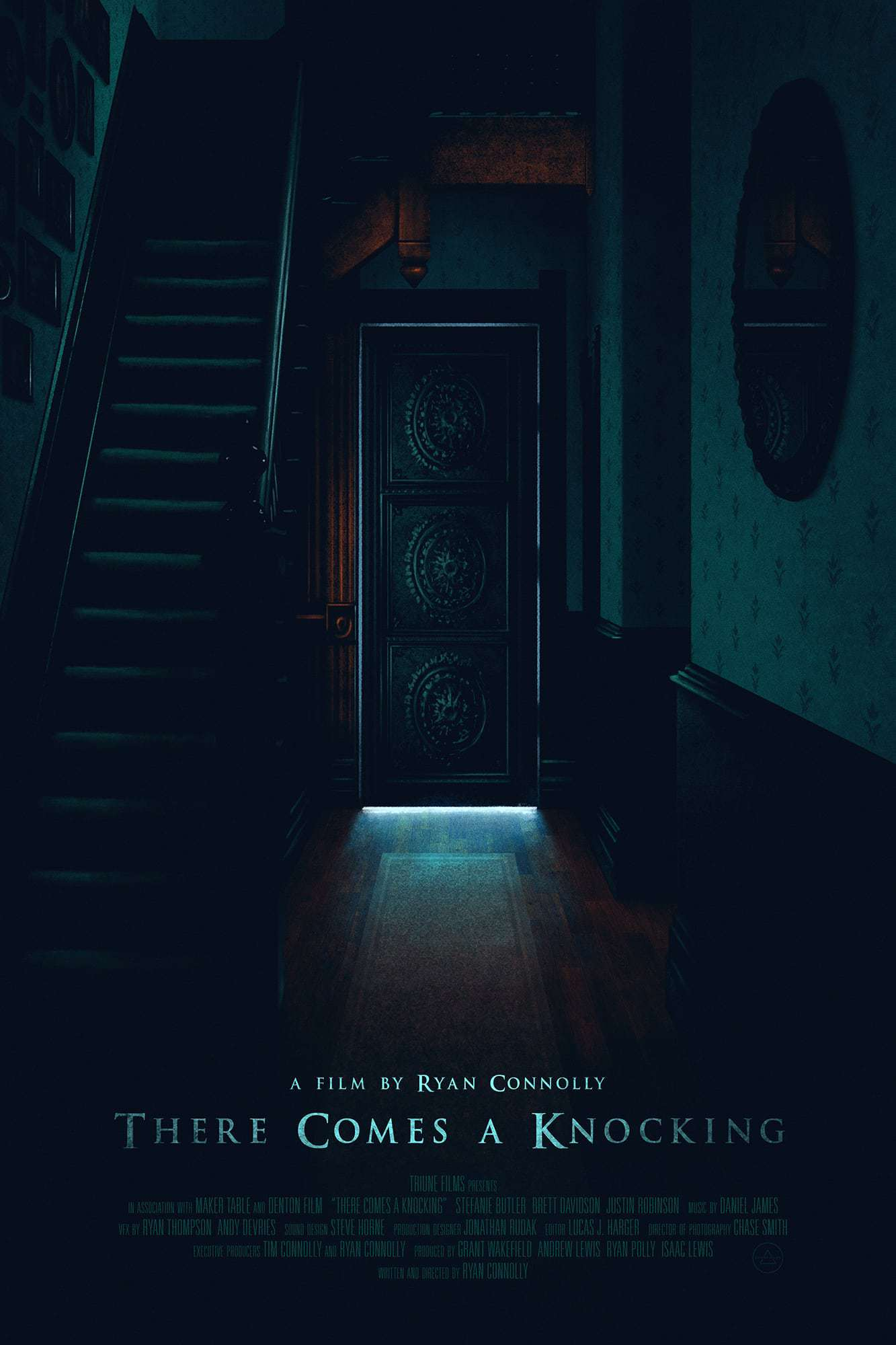 There Comes A Knocking - Poster